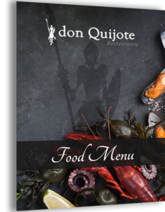 Don Quijote food menu