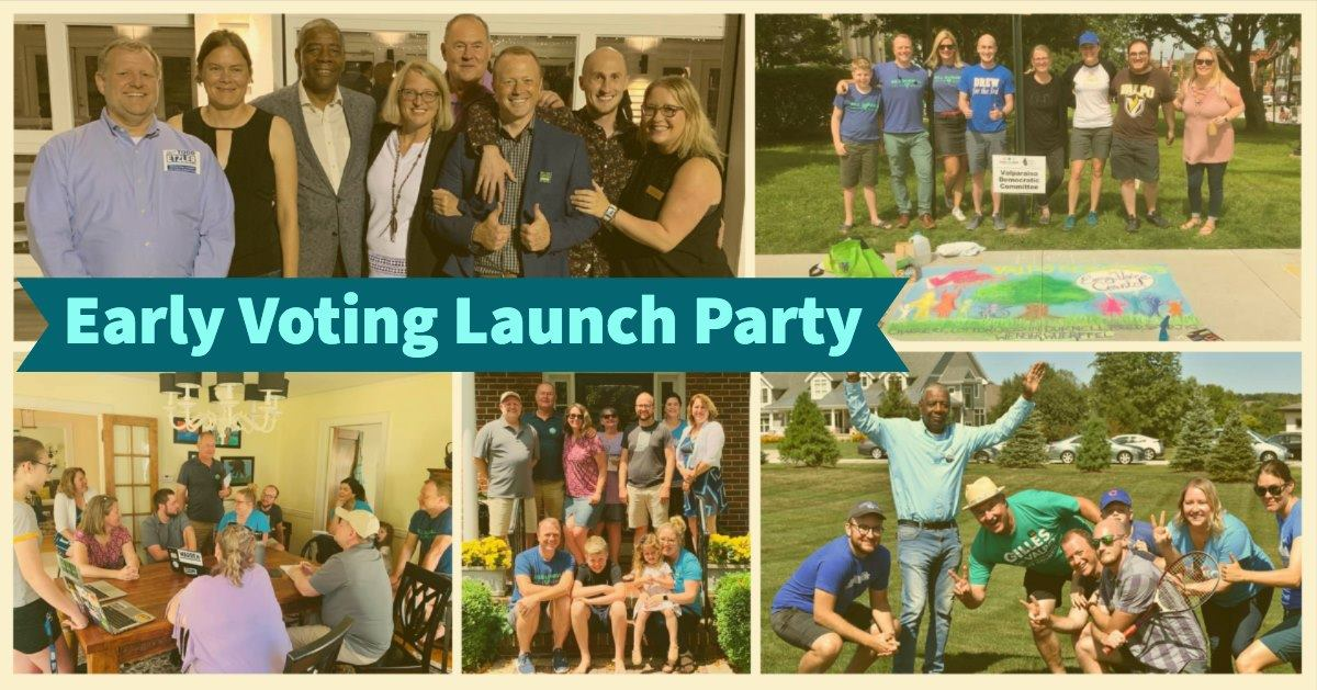 Early Voting Launch Party – Oct 6th